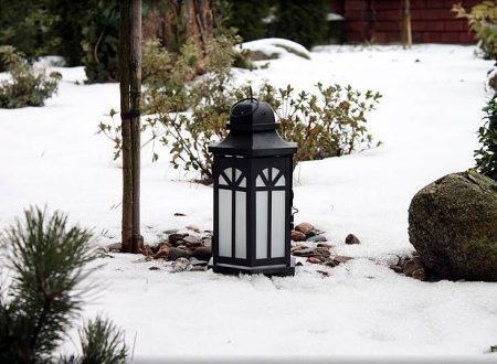 Lampion ogrodowy cudnym pomysłem na świąteczny prezent